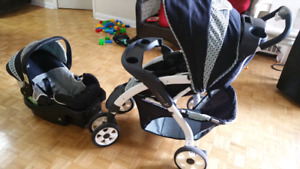 Safety 1st  lux travel system all in 1 with plastic  rain cover