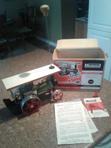 Mamod steam tractor  t.e.1