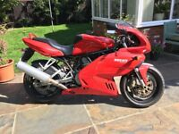 Ducati 620 ie Sport fully faired