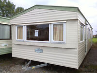 Static caravan 35 x 12 ft / 3 bedrooms with electric heating, Delta Nordstar