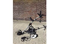 S1 Motocaddy Golf Cart/Trolley/Caddy with Lithium Battery & Accessory Pack