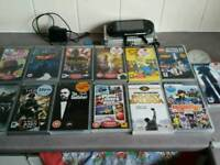 Psp e1000 with games