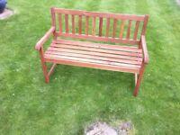 Leighton Wooden Patio & Garden Bench (Brand New & Boxed)