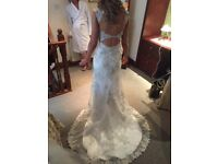 Beautiful Maggie Sottero Jade Wedding Dress. Long Length. Size 8-10.