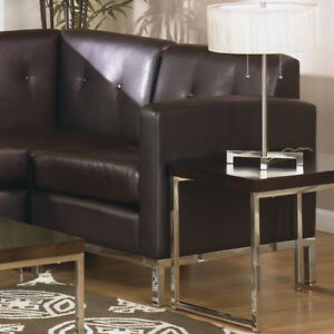 New Mapleton Leather Lounge Left facing Chair Left facing