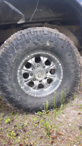"17"" rims 37"" toyo open country's"