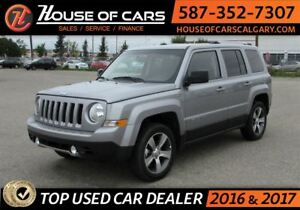 2016 Jeep Patriot High Altitud / 4WD / Sun Roof / Leather