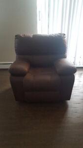 Swivel Rocker Recliner Chair - Practically Brand New!!!