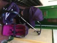 FOR SALE: Complete Mama and Papas Sola Travel System