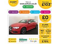 Audi S3 FROM £103 PER WEEK!