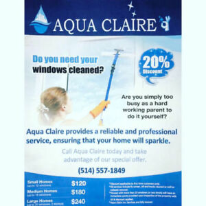 LAVAGE DE VITRES - EXPERTS - WINDOW CLEANING