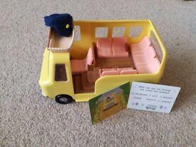 Sylvanian Families Nursery School Bus (with all original accessories)