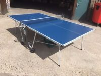 Knight X-12 Outdoor Table Tennis Table - New Condition