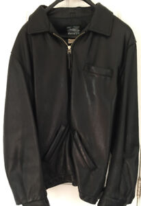 Roots leather jacket