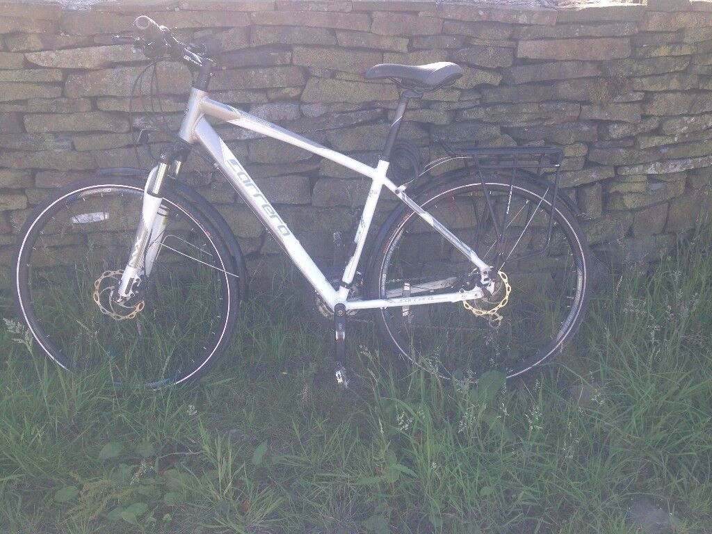 Mountain Bike Carrera Crossfire 3. Full size hybrid Mountain Bike in excellent condition200 onoin Whitworth, ManchesterGumtree - Mountain Bike Carrera Crossfire 3. Full size hybrid Mountain Bike in excellent condition used about 6 times and still as new. Disc Brakes. Bought for me to get fit but need to sell for medical reasons so will not be getting used again. Cost over...