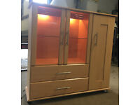 Wardrobe/glass cabinet DELIVERY AVAILABLE
