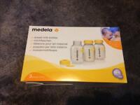 3 x Medela Breast Milk Bottles