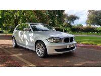 BMW 118D SE 10 PLATE 2010 6 SPEED 2P/OWNER 135000 MILES FULL SERVICE HISTORY SATNAV AIRCON ALLOYS