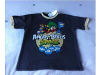 New Angry birds Tshirt 4-5