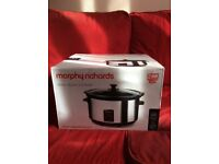 Slow cooker- BRAND NEW! Morphy Richards