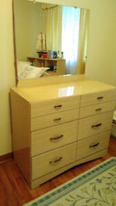 Very Nice!  1950s Vintage 3 Drawer Dresser with with Mirror!