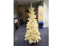 Cream 6ft4 Christmas Tree