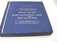 Boxed set of 12 Readers Digest Vinyl LP's Mood Music for Listening & Relaxation