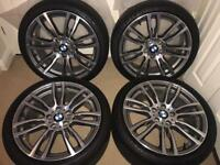 "OEM BMW M-sport 19"" 403M wheels and tyres -F30 F31 F32 F33 F34 F36"