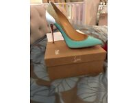 Genuine Christian louboutins - unworn shoes. Size 37.5 women's