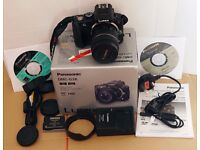 Panasonic G3 camera with zoom lens & extra battery