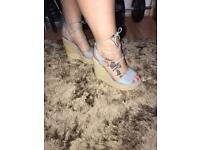 River island size 6 new wedges