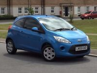 2010 Ford Ka Style+ 1.2Petrl 35k mile genuin warrantd New Mot 1year £30 Tax a Yr px Ford,corsa,yaris