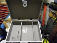 Aluminium tool case.