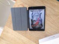 Excellent Condition IPAD MINI 4 128GB CELLULAR + case, warranty, box & accessories