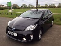 Toyota Prius 2012 One owner 1Yr Mot Like NEW 54K Mileage SAT Nav Reverse Cam Hpi Clear