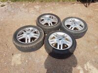 mk1 ford focus alloys and tyres