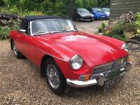 1969 G MG B 1.8 TWIN CARBS SPORTS ROADSTER CONVERTIBLE MANUAL /OVERDRIVE