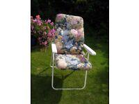 garden chair & cushion