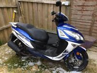 Sinnis Shuttle 125, 9 months old, great run about, no longer needed. £500.ono.