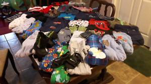 41 items! Lot of Boy Clothing. 6-12 months.
