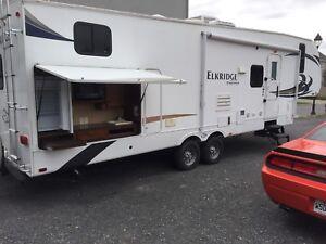 Elkridge  Heartland  modèle 30E 2012 bunkbed