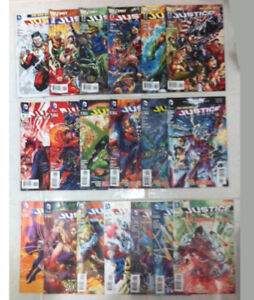 DC COMICS THE NEW 52 JUSTICE LEAGUE #0-#18 EARLY RUN