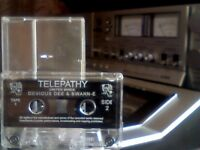 DEVIOUS DEE & SWANN-E - TELEPATHY / UNITED MINDS OLD SKOOL RAVE PRERECORDED CASSETTE TAPE anomaly!