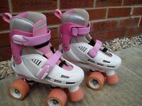 Girls Quad Roller Skates - SFR STORM