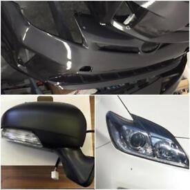 Toyota Prius parts bumpers, lights, mirrors