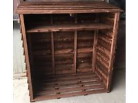 log store 4ft x 4ft inc local delivery
