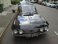 Lancia Fulvia coupe, 2 owners, MOT'd, rust free, repainted