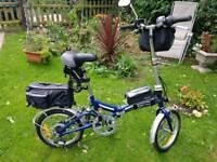 New fold up bike
