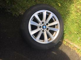 BMW F10 good alloys and tyres 225/55 R17
