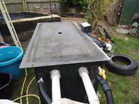 Large pond filter box